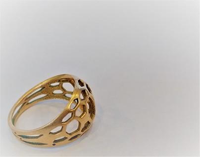 Esaring-3Dprinted jewel