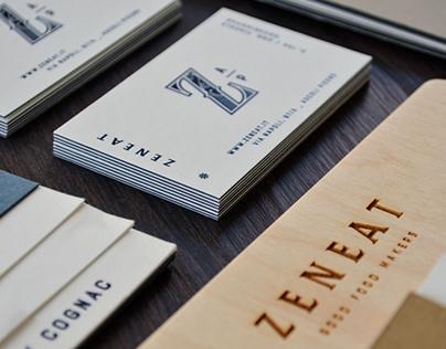 Zeneat _ Brand identity