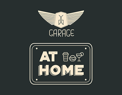 Garage At Home Branding & Catalog