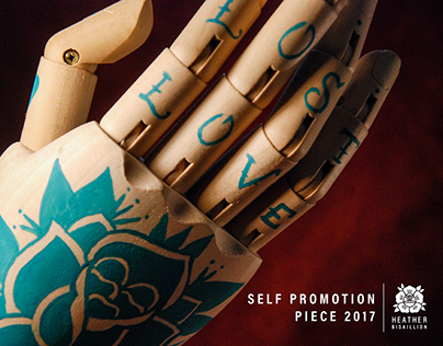 Self Promotion Piece 2017 | Heather Bisaillion