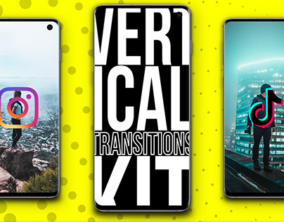 Vertical Transitions Kit [After Effects]