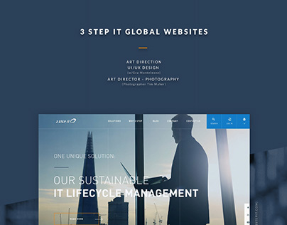 3 STEP IT - Website Renewal