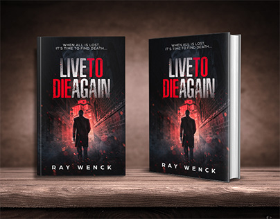 Live To Die Again book cover design