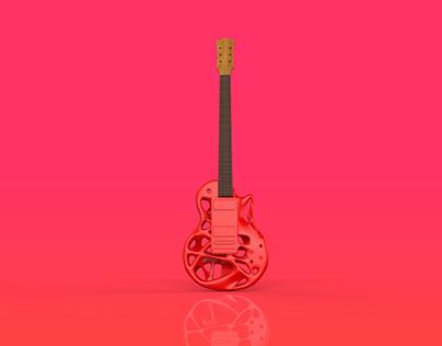 Guitar restyling | T-Splines