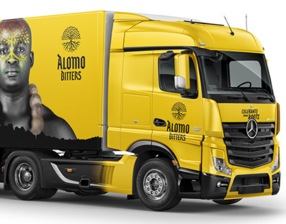 3D Truck Visualization for Kasapreko Alomo Bitters