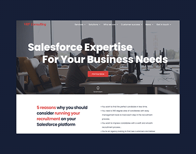 VRP Consulting Website