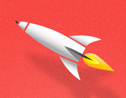 Icon / Logo for a project called Rocket Note