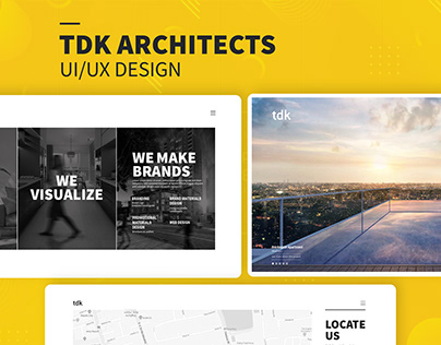 TDK Architects - Web Design