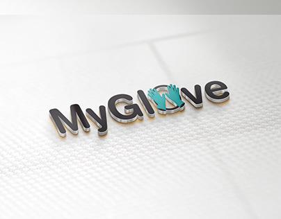 "Medical safety company logo ""MyGlove"""
