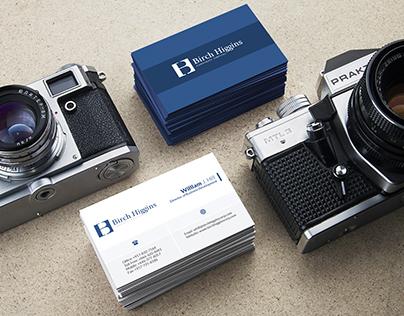 Brich Higgins Business Card Design