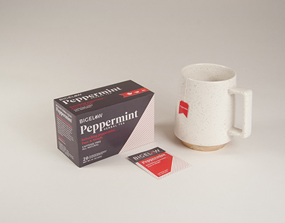 Bigelow Peppermint Tea Packaging Redesign
