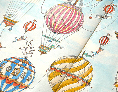 World of hot air balloons