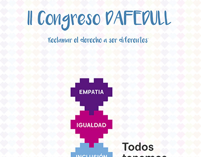 Cartel II Congreso Dafedull