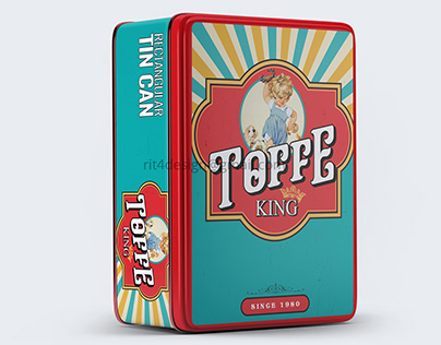 Toffee Tin design