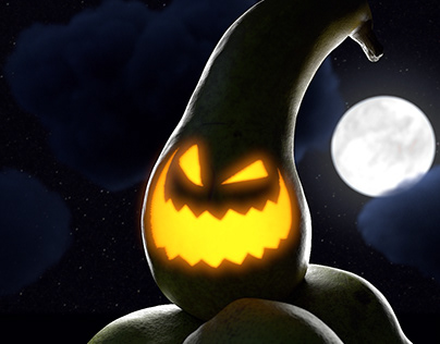 CG Food - Halloween Pear