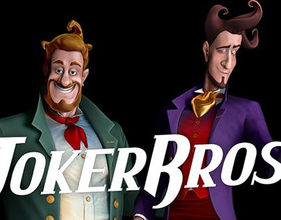 Joker Bros — two characters
