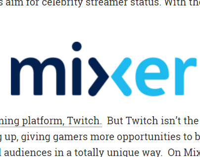 Mixer: Live Streaming for Gamers - Allen Chi
