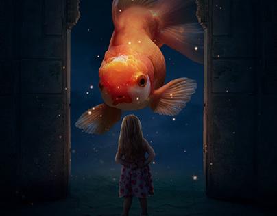 Big Fish - Photoshop Manipulation