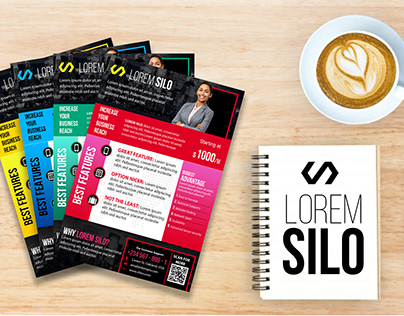 Lorem SILO 4 flyer templates