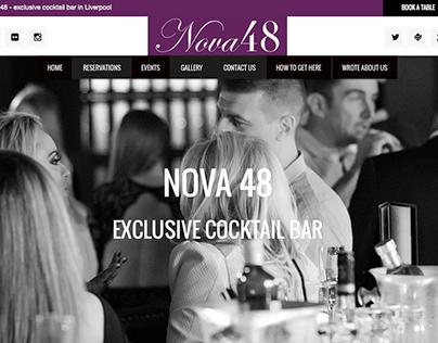 NOVA 48 - cocktail bar in Liverpool