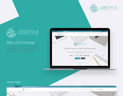 LEXSTYLE Web & UI/UX Design