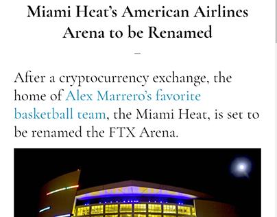 Miami Heat Arena