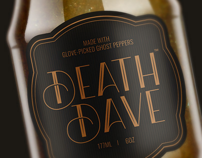 Death Dave Hot Sauce (Personal Project)