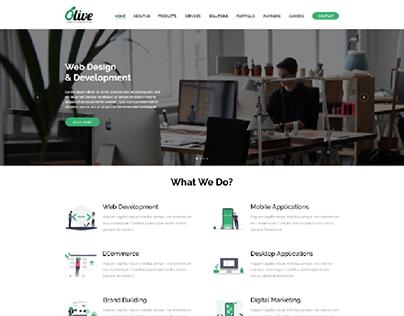 Olive Infocraft Website