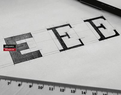 Letra E Sketch WIP