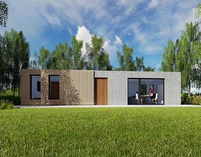 Concept house - 48 m²
