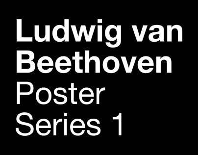 Beethoven Poster Series 1