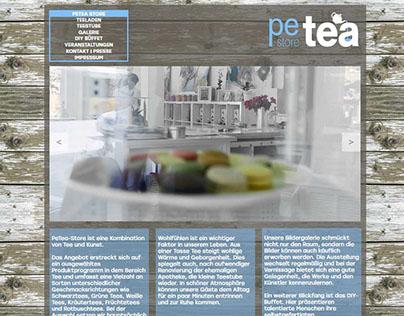 Website für Teeladen