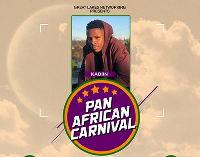 Pan African Carnival e-Flyers