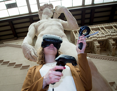 Virtual reality for museum of fine arts