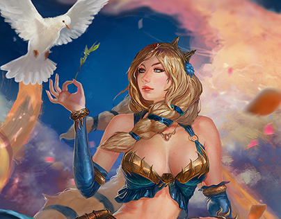 Aphrodite - Mastery Skin - Smite