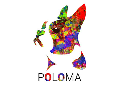 Logo for french dog closet