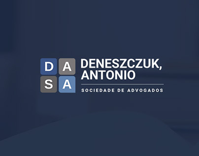 DASA Advogados - Logotipo + site + papelaria