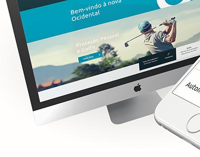 Ocidental Website (2015)