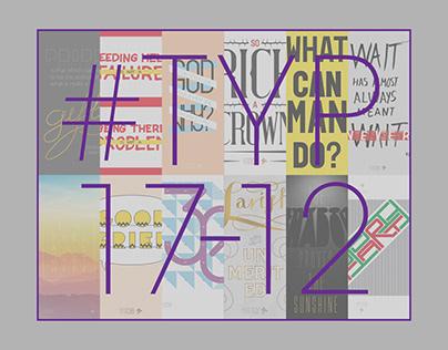 #TYP17-12 Poster Series