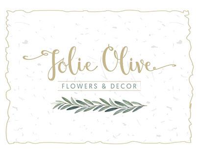 Jolie Olive. Branding Identity © 2016
