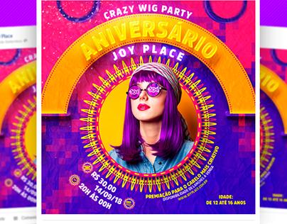 Crazy wig party - Joy Place