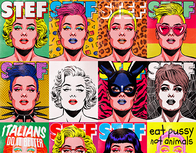 Stefania Ferrario Pop Art Series