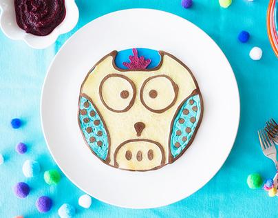 TEFAL - Owl Pancakes