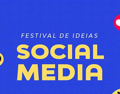 Festival de ideias - Social Media