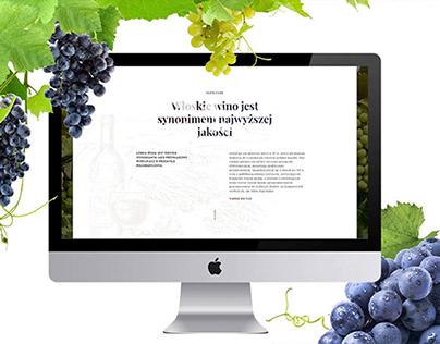 Дизайн сайта для производителя итальянского вина