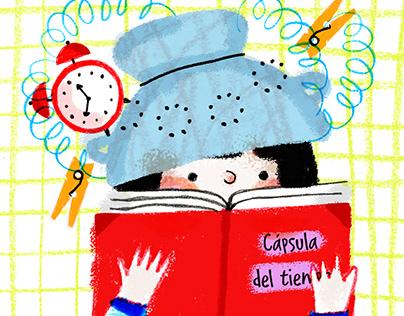 """Ilustración para """"Gigantes"""", La Diaria."""