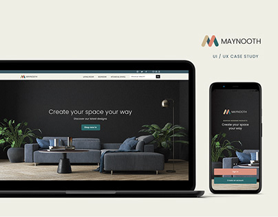 Maynooth - UI / UX Case Study