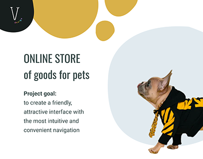 Online store of goods for pets