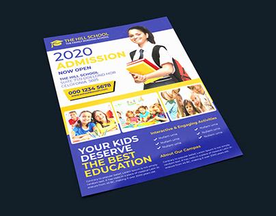 School Education Flyer Templates