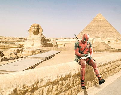 The superheroes in egypt- الأبطال الخارقون وصلوا مصر